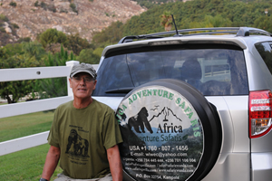 Bill Williams - Africa adventure Safaris