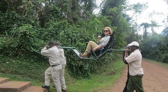 Gorilla tours with disabilities