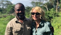 Uganda police rescues an American tourist and her driver guide