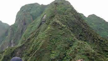 Volcano hiking in Uganda