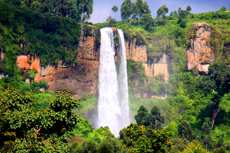 Waterfalls in Uganda