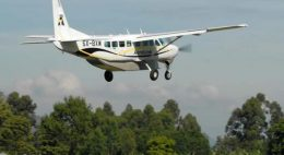 Uganda flying safaris