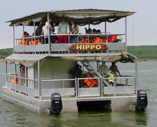 Boat cruise at Kazinga channel